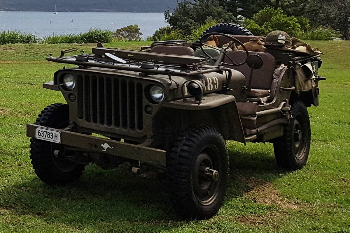 Military Vehicle, Willys Jeep