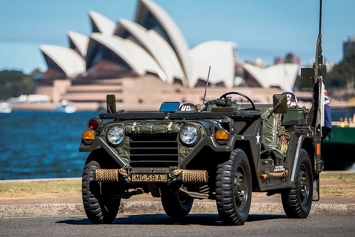 Military Vehicle, M151A2 Mutt Jeep