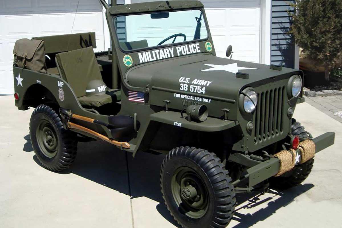 Military Vehicle, Wills Jeep M606