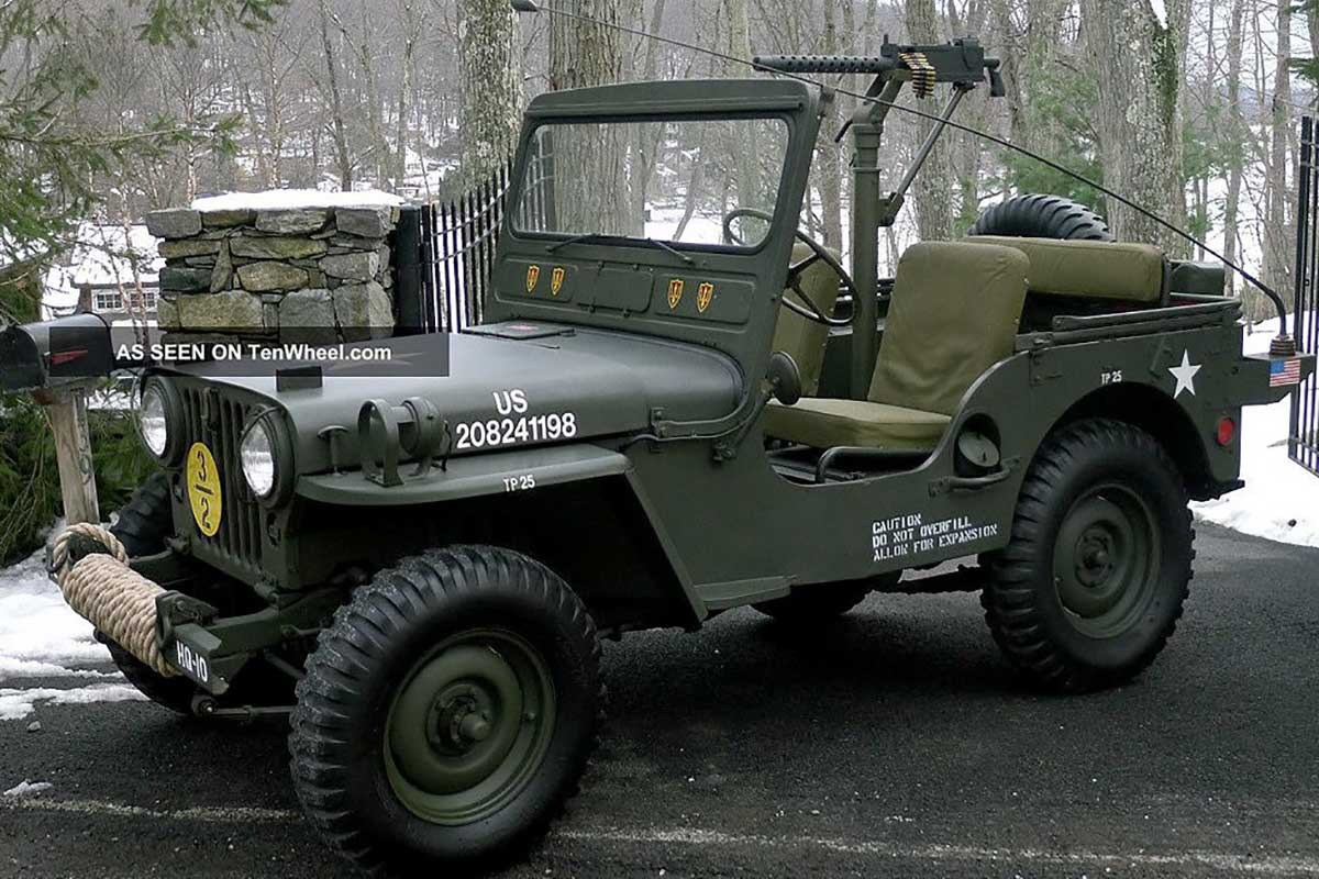 Military Vehicle, Willys Jeep M38