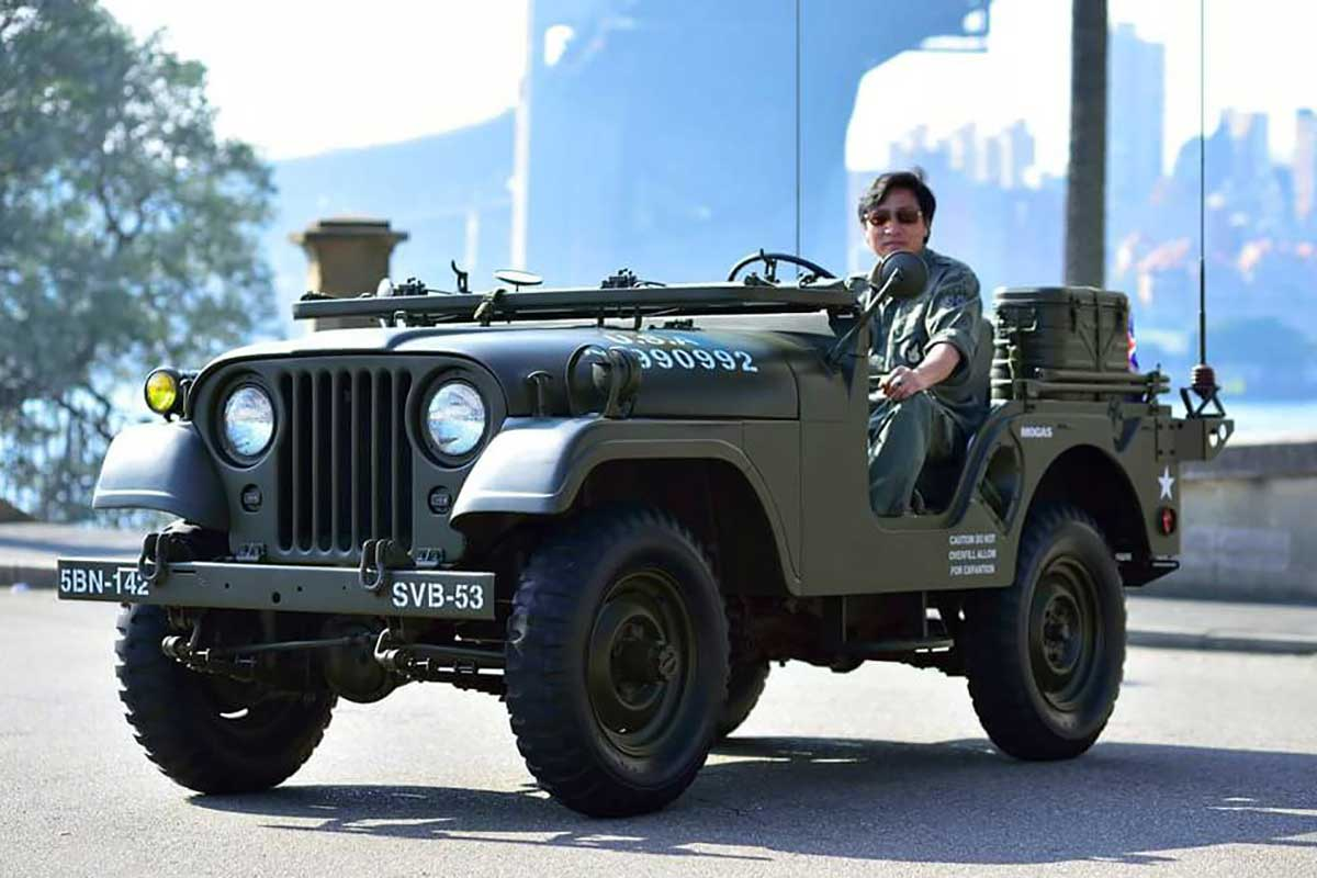 Military Vehicle, Willys Jeep M38A1