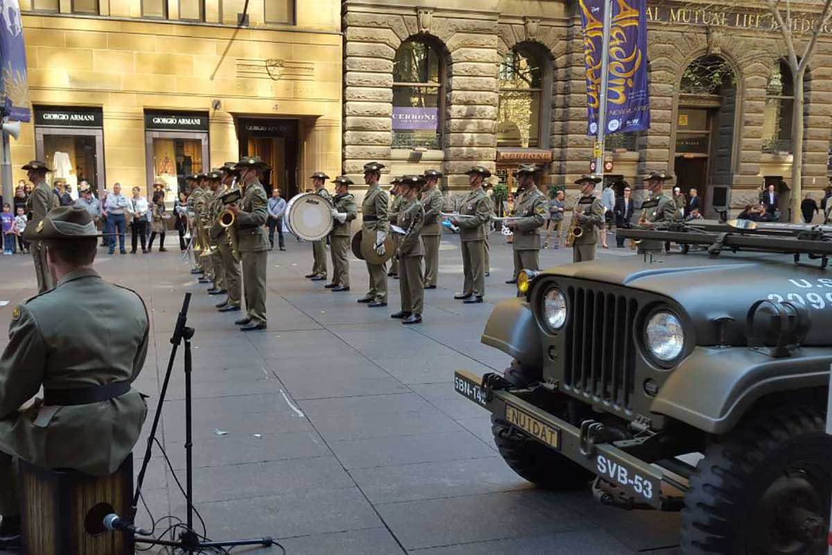 Military Vehicle hire for parades