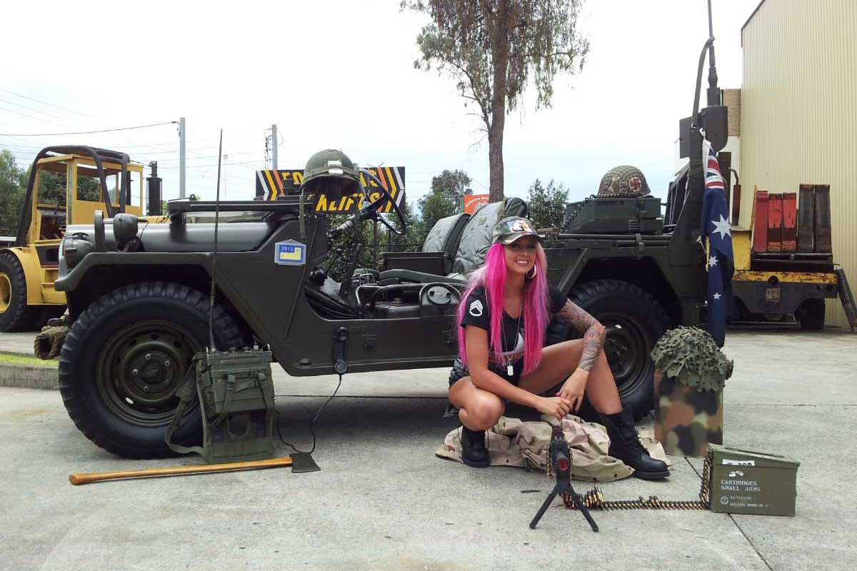 Military Vehicle hire for film, TV, ads